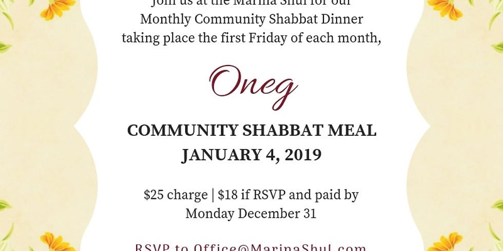 Oneg Shabbat Community Meal