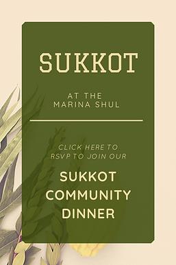 Sukkot Community Dinner