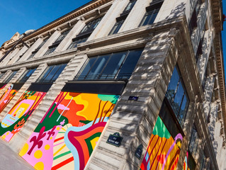 The Louis Vuitton headquarters in Paris is Metamorphosed