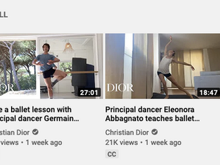 Dior Offers Line Dance Classes with Star Dancers