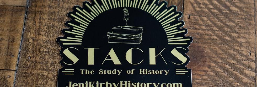 """Stacks Die Cut Sticker 5""""x5"""""""