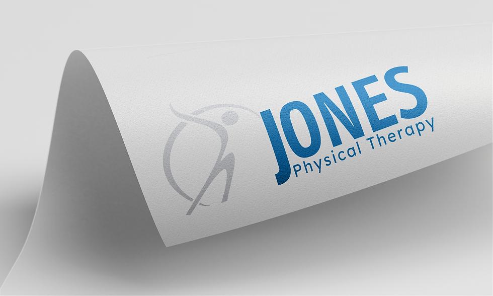 Jones PT Logo Design Harrison Arkansas Elevate Digital Designs