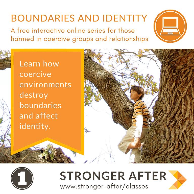 Boundaries & Identity - part 1