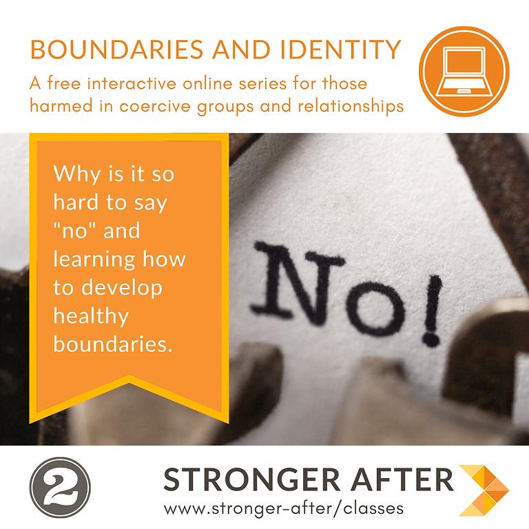 Boundaries & Identity - part 2