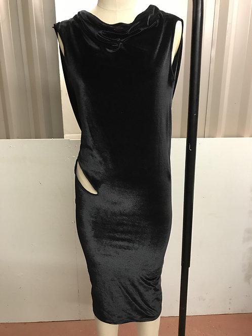 Bareback backless dress  Worn by X Factor finalist Chloe Jasmine.