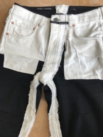 Tiffany Stanford Designer Double Look Jeans
