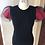 Thumbnail: Mesh and Print Double Sleeved T-Shirt