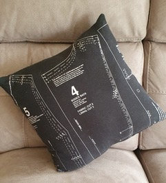 Pattern Print Designer Cushion