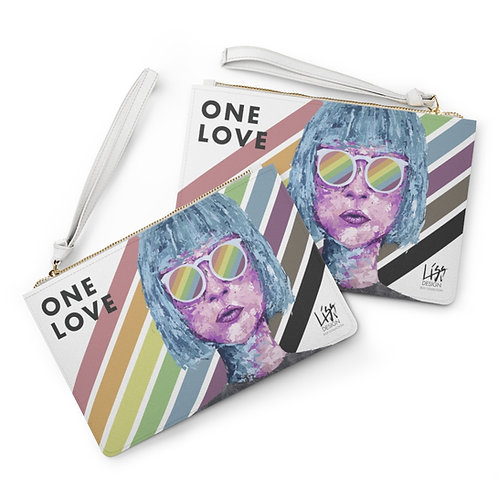 ONE LOVE Clutch Bag