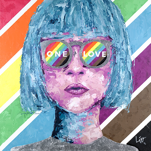 GICLÉE - ONE LOVE