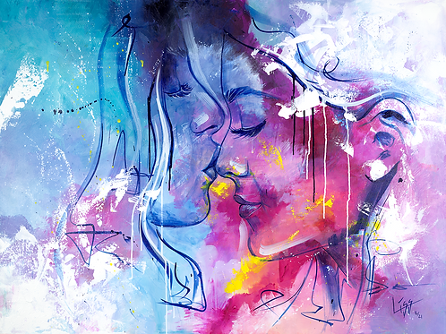 GICLÉE - ME & YOU AGAINST THE WORLD