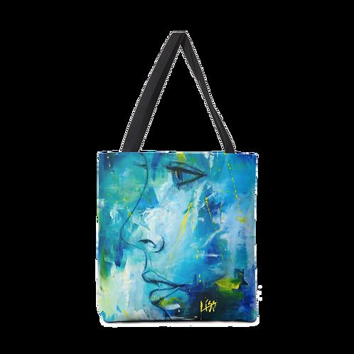 Tote Bag - VISION IN BLUE