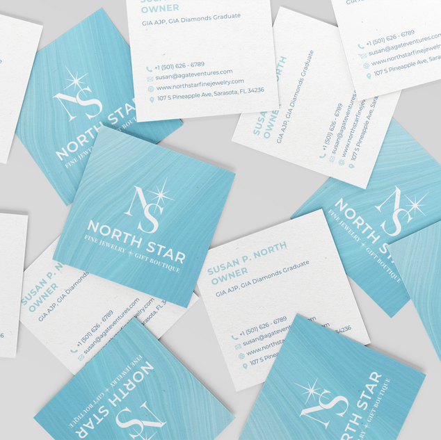 NorthStar_Square Business Card Mockup -