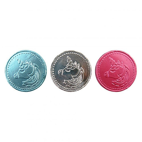 100g Unicorn Chocolate Coins