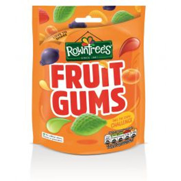Rowntree Fruit Gums 150g Pouch