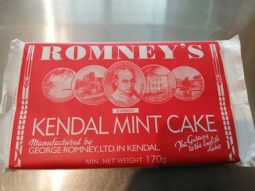 Romney's brown sugar mint cake 170g (2 bars)