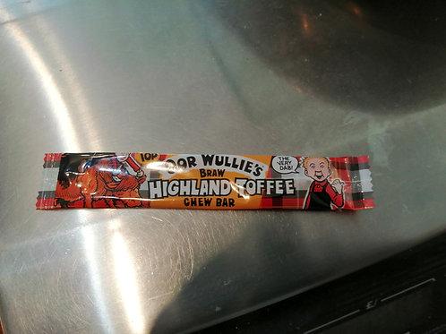 Highland toffee chew bar x 10