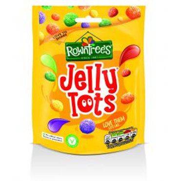 Rowntree Jelly Tots 150g Pouch
