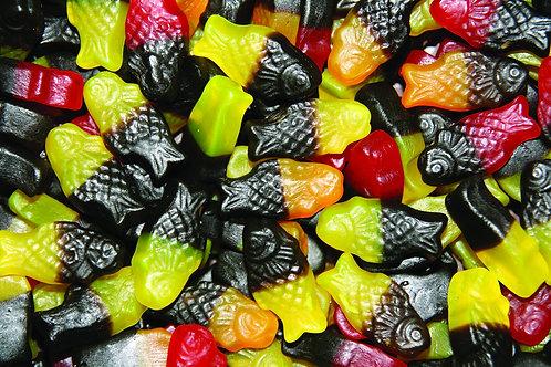 """Neon Guppies"" Soft Fruity Fish 200g"
