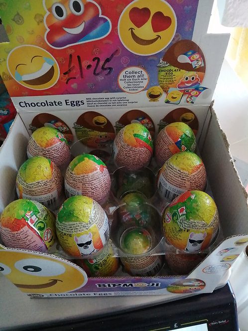Emoji Milk Chocolate Egg