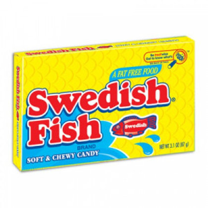 Swedish Fish Theatre Box Assorted Flavours