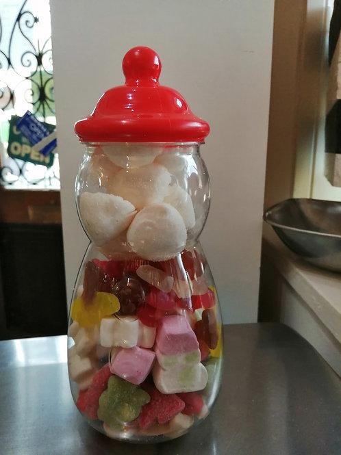 Christmas mix snowman jar 450g