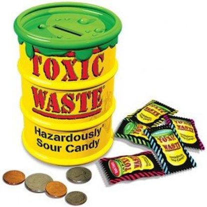 Toxic Waste Money Box Bank