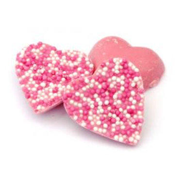 Chocolate Candy Hearts 225g