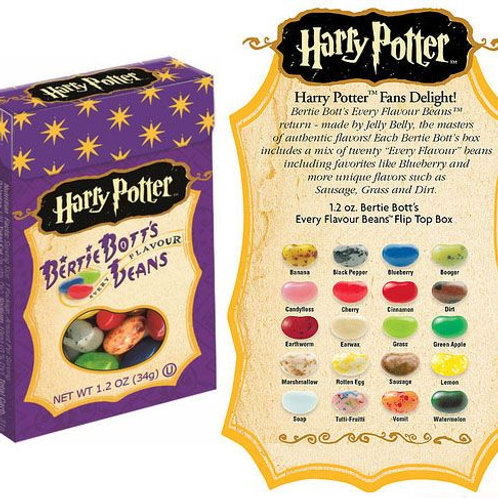 Harry Potter Every Flavour Jelly Beans Box