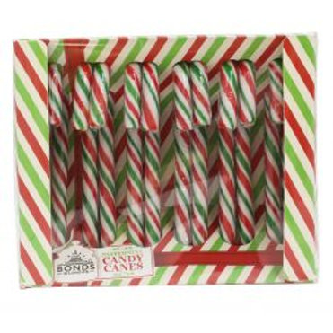Box of 12 Peppermint Candy Canes