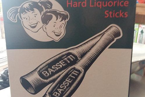 Barratt Bassetti Hard Liquorice Sticks (Full box of 75)