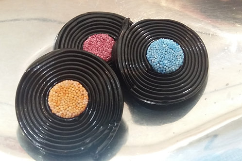 Barratt Liquorice Catherine Wheels (10 pack)