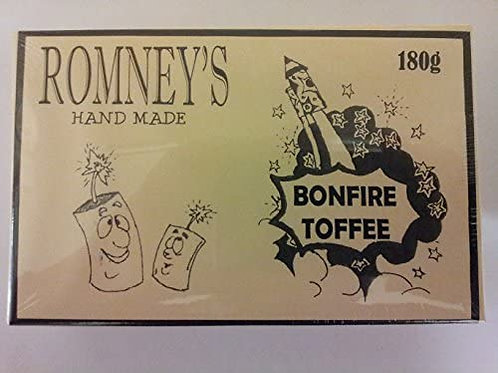 Romney's Old Fashioned Bonfire Toffee Box 180g