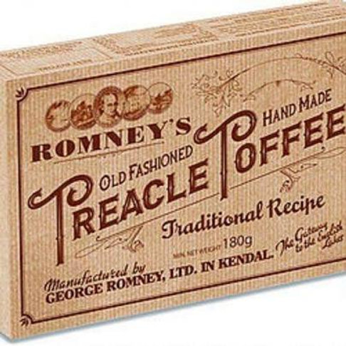 Romney's Old Fashioned Treacle Toffee 180g Gift Box