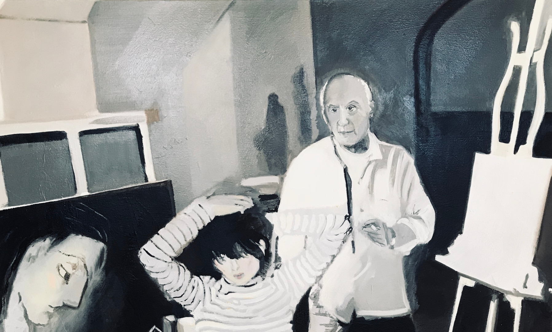 Stepping In- With Picasso