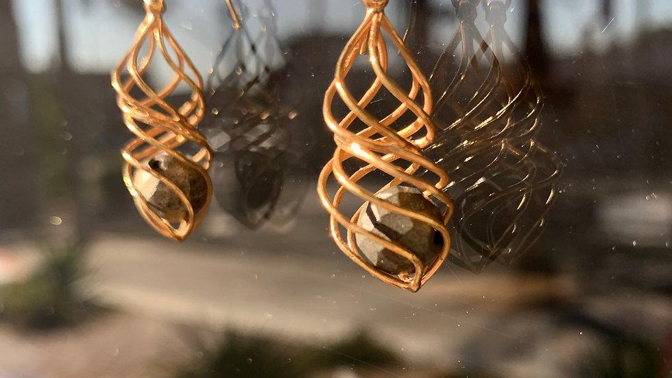 Twist Earrings.