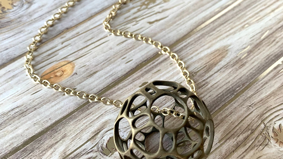 Geometry Round Necklace