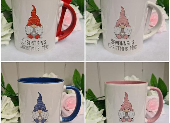 Gonk Personalised Hot Chocolate Mug