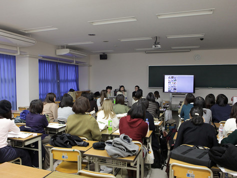 昭和女子大学で特別講師