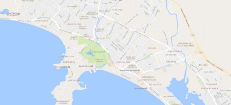 Chofer PRO mapa Manzanillo