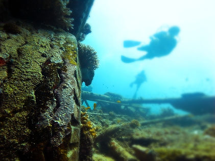 Bounty Wreck at Gili Trawangan Indonesia
