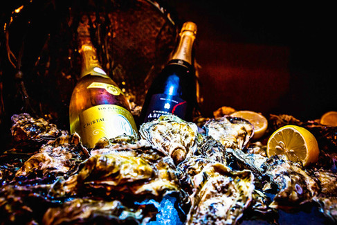 Champagne and Oysters