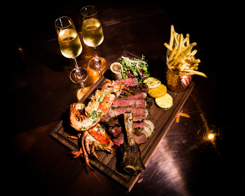 Surf 'N' Turf with Champagne.jpg