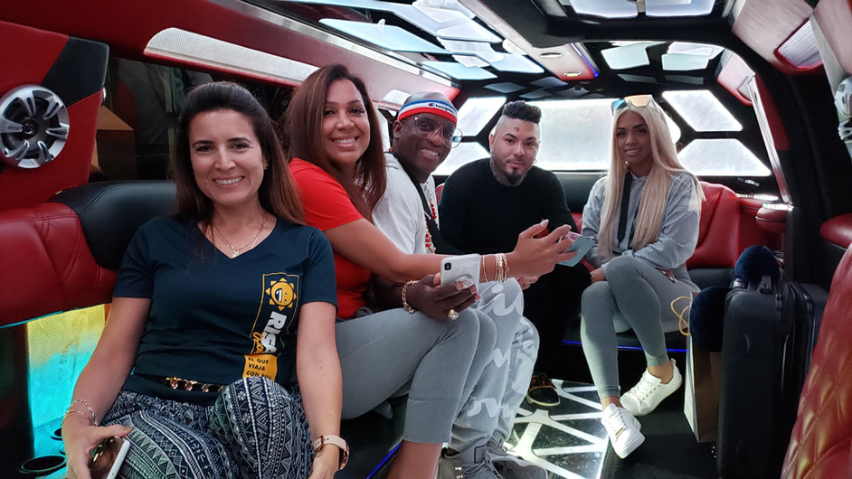 Team RISA y Bonco en Dubai