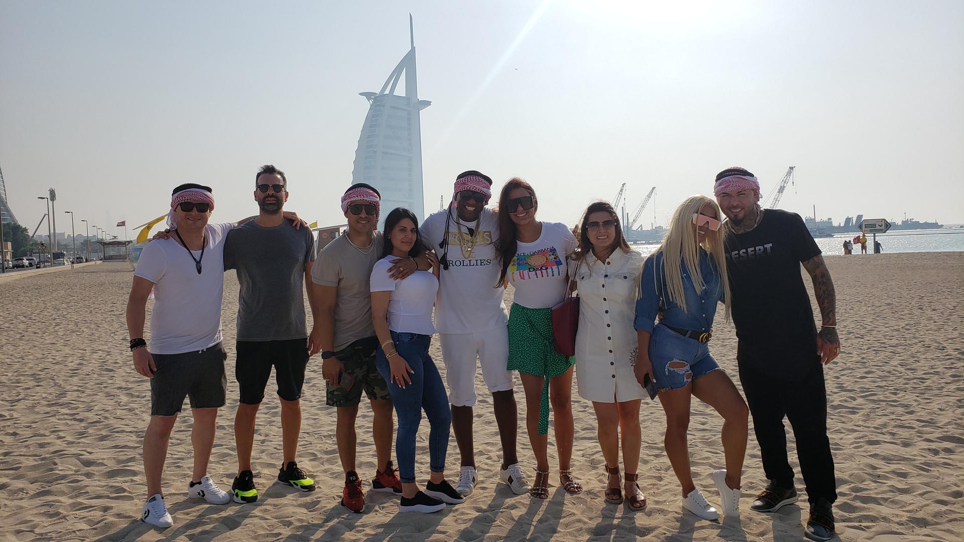 Team RISA y Chacal en Dubai