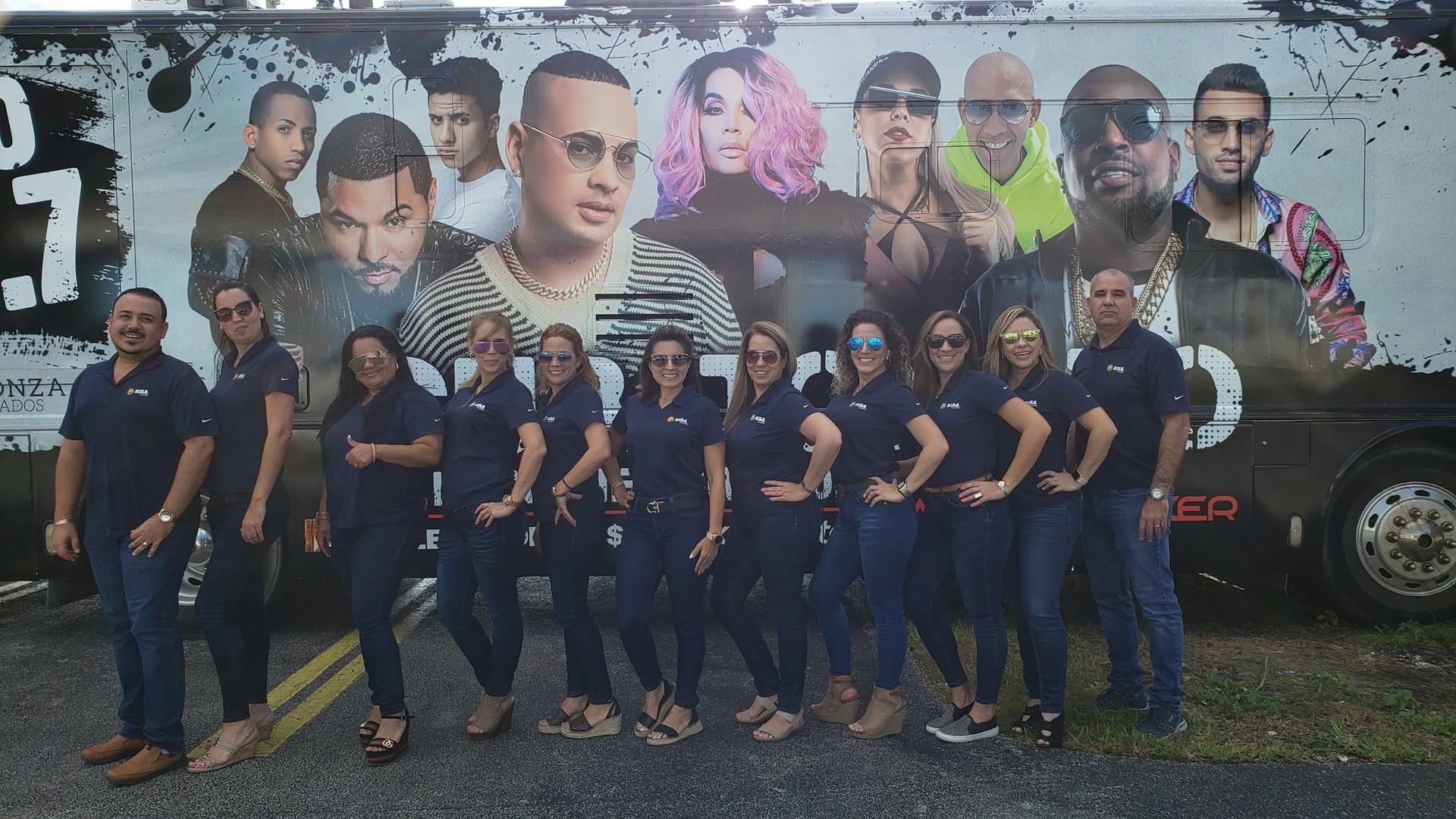Team RISA Octubre 2019