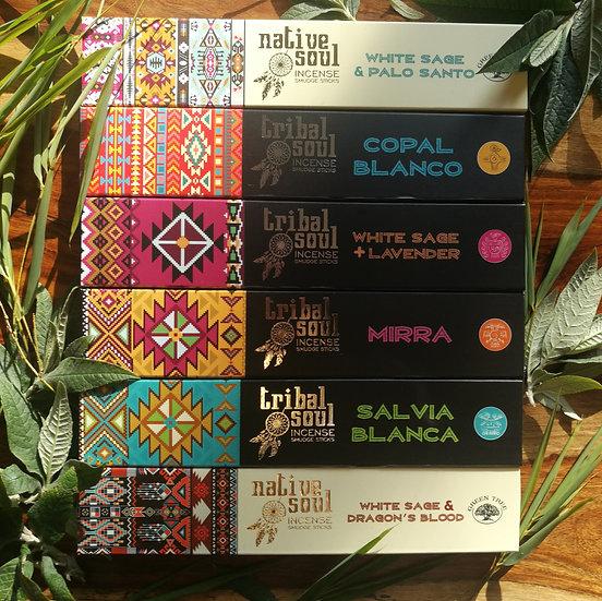 Tribal Soul Incense Sticks (Choose Your Scent)