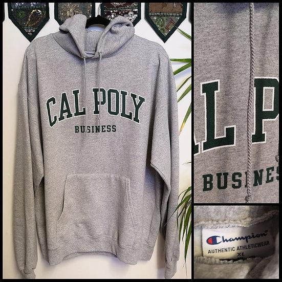 Vintage 90's US College Sport Hoodie Sweatshirt Unisex Size L/XL