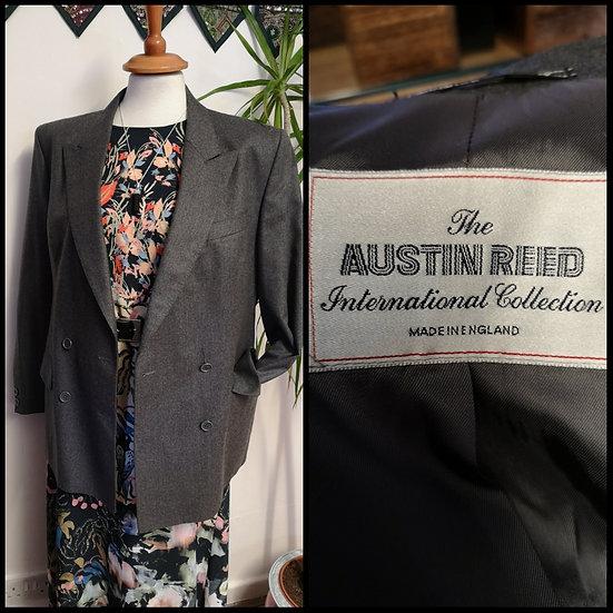 Vintage 90's Austin Reed Wool Blazer Size M