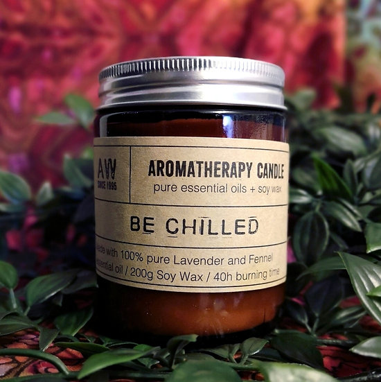 Be Chilled Aromatherapy Candle - Lavender & Fennel
